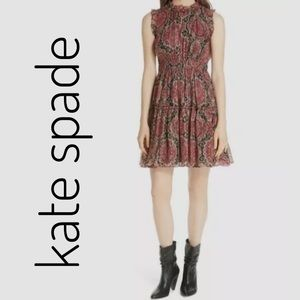 Kate Spade Silk Chiffon Dress